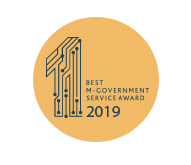best m-goverment service award 2019